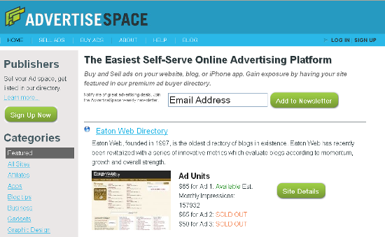 advertiseSpace