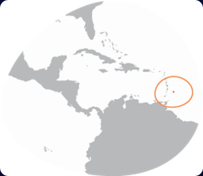 barbados-country-map