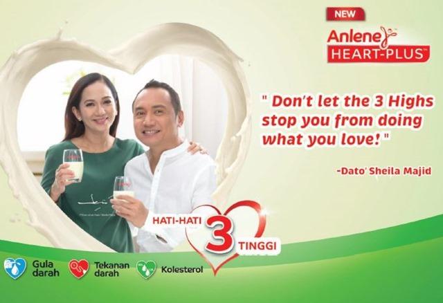 Usaha Jauhi 3 Tinggi Dengan ANLENE Heart-Plus™ (5)