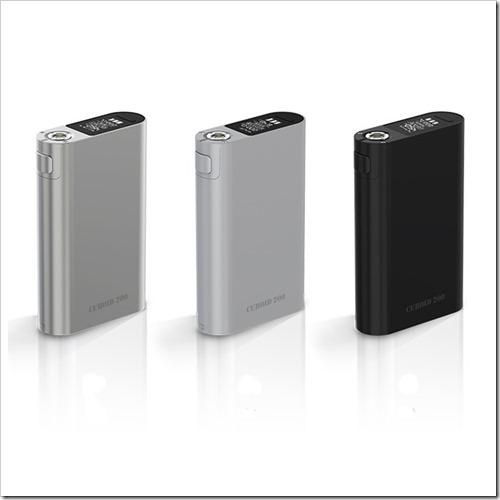 joyetech cuboid 200 mod 1 thumb%25255B2%25255D - 【MOD】3本バッテリー「Joyetech Cuboid 200W TC Box Mod」【大型筐体/ファームウェアアップグレード可】