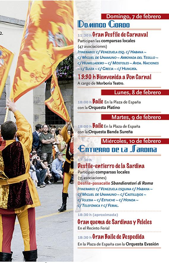 Carnaval 2016 en Fuenlabrada, del 7 y al 10 de febrero
