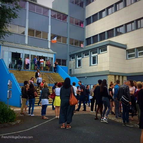 French Village Diaries BAC results 2018
