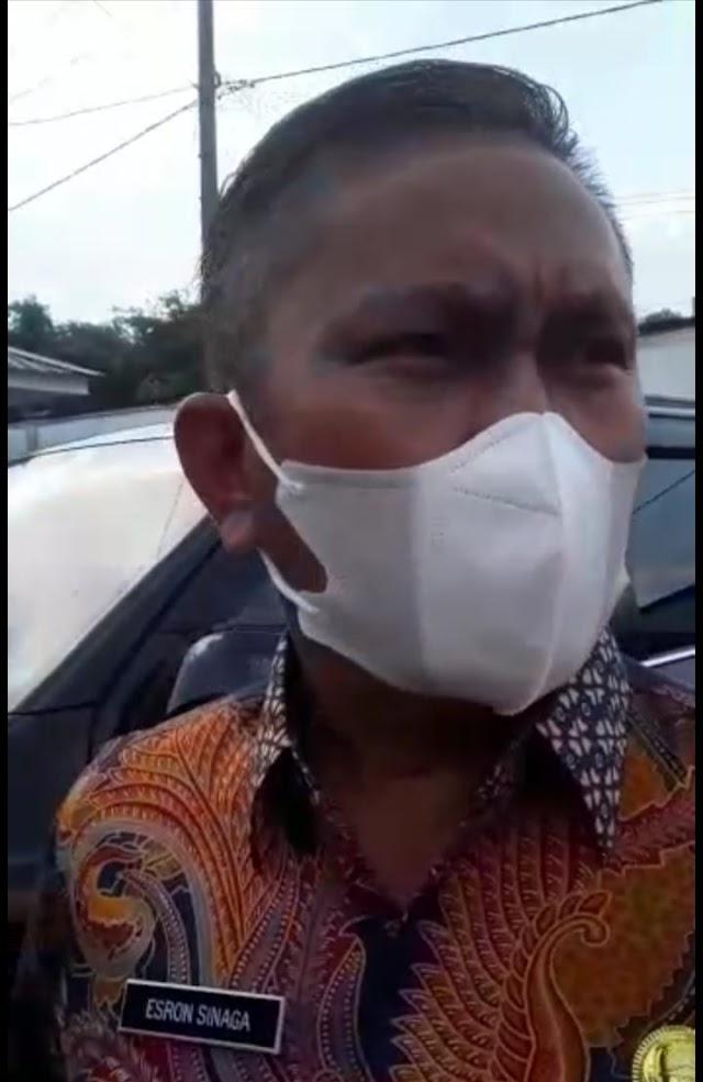 Sekda Simalungun Drs Esron , Akan Membenahi ASN Terlebih Dulu