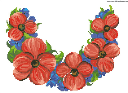Red Poppies chart