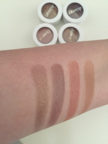 Colourpop Super Shock Shadows Swatches - Nillionaire, Hanky Panky, Wattles, Mixed Tape