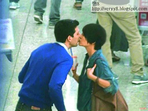 梁詠琪夫婦激吻真人騷 一程車咀八次