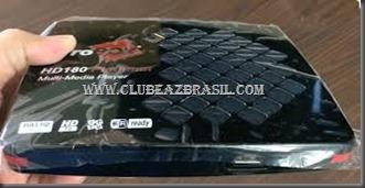 ATUALIZAÇÃO PROBOX HD 180 PLATINUM