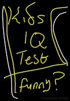 Kids IQ test