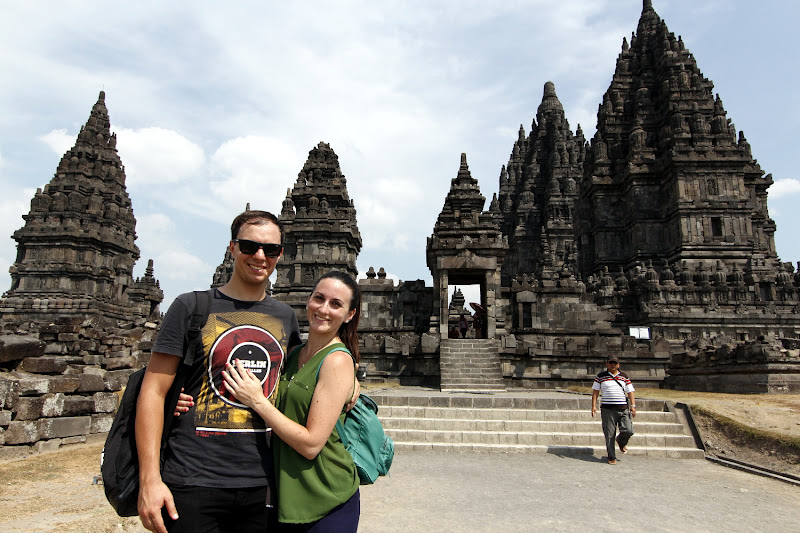 Nosotros en Prambanan