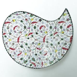 Saim Kolhan Turkish Pottery Plate