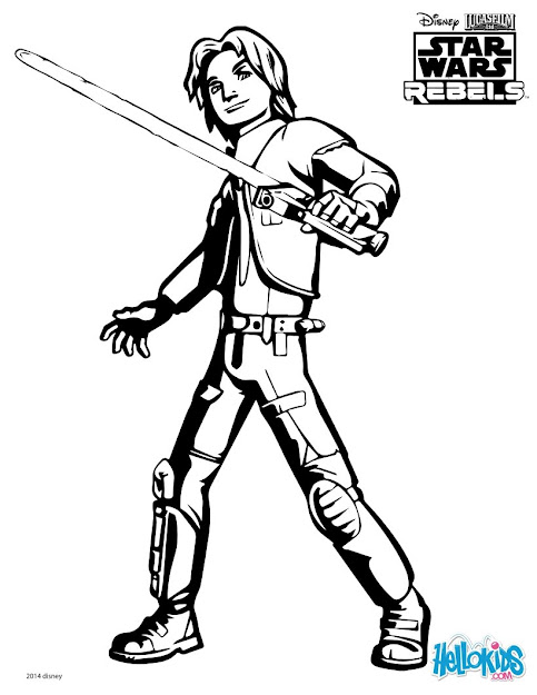 Swrhera Swrezra Coloring Page Swrezra Star Wars Battle