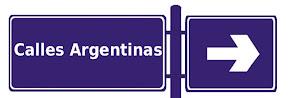 calles argentinas