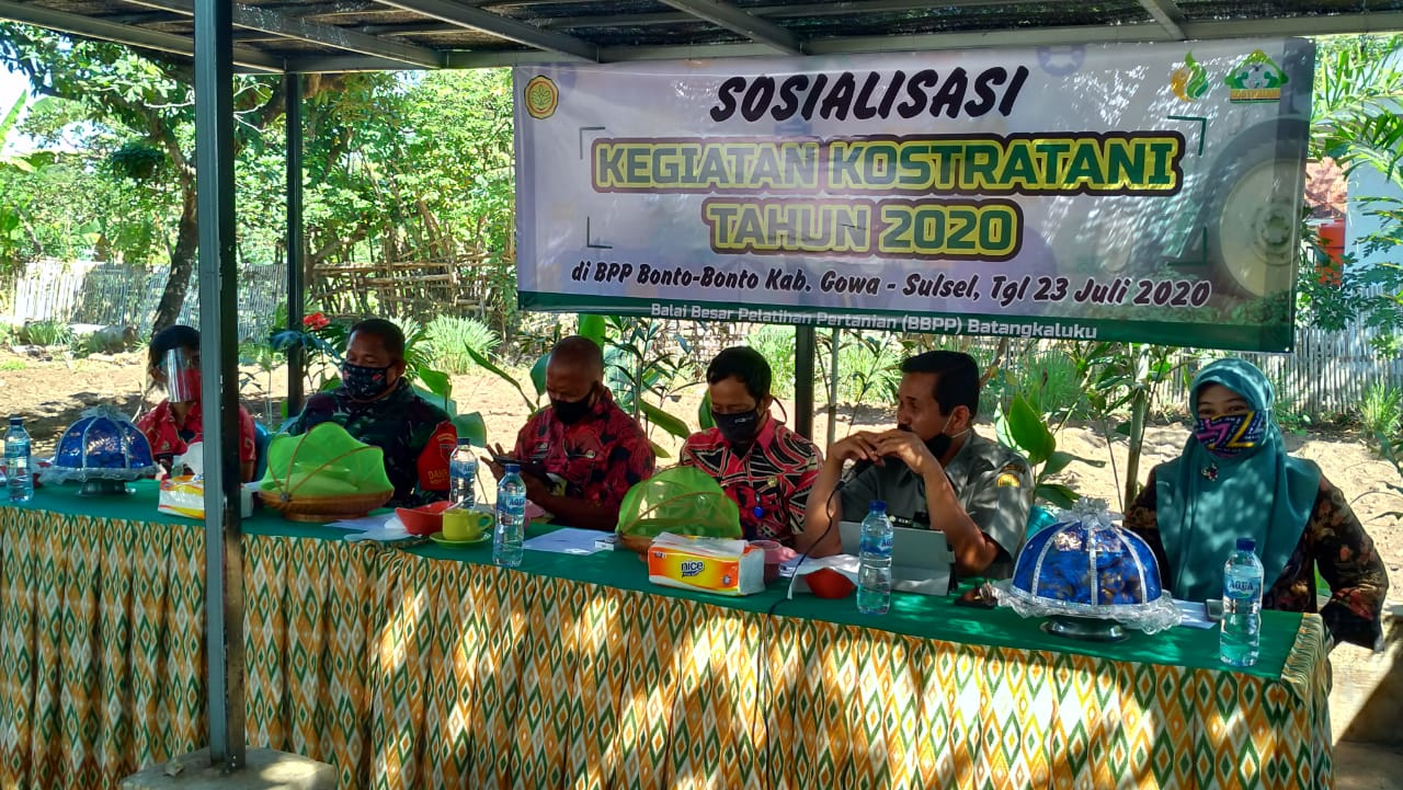 Sosialisasi Konstratani di Kab.Gowa, Kepala BBPP Batangkaluku Harap Optimalisasi Fungsi BPP
