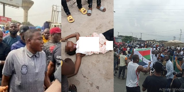 Yoruba Nation: 14-year-old drink seller killed by stray bullet in Lagos [Photos/Video]