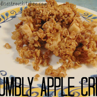 Crumbly Apple Crisp