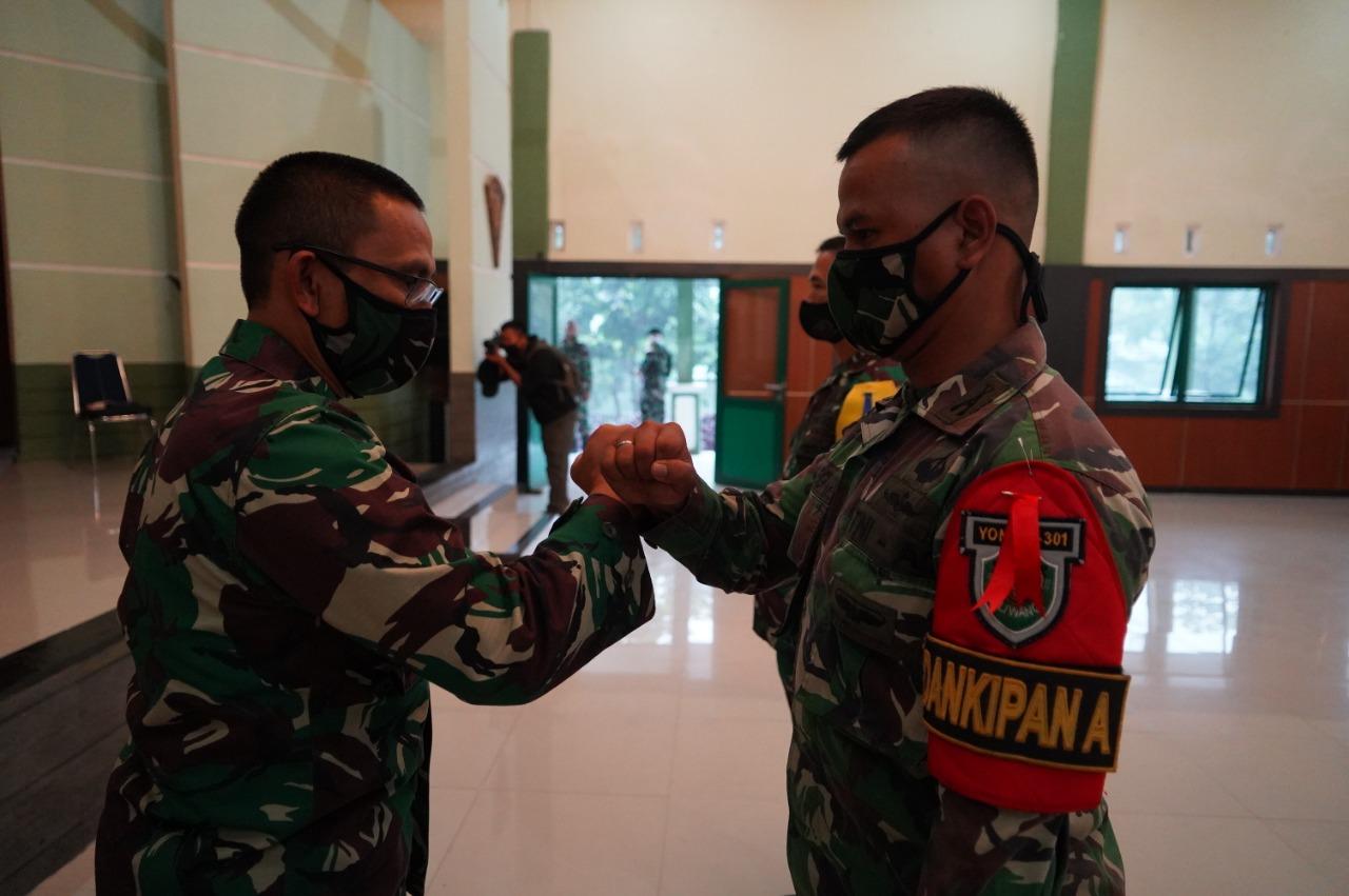Danrem 062/TN Membuka Latihan UST Tingkat Kompi Senapan Yonif Raider 301/PKS