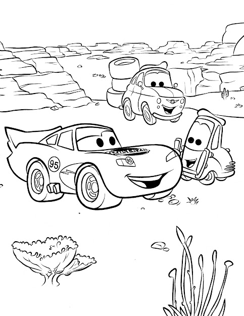 Disney Coloring Pages Cars Movie Elegant Printable Has