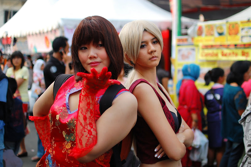 cosplay game Ennichisai Blok M