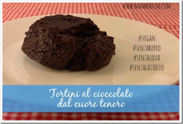 tortini al cioccolato vegan