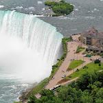 С канадской стороны водопад Подкова видна лучше, чем с американской