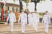 Komandan Pangkalan Utama TNI AL V Surabaya  Hadiri HUT Ke-65 Penerbangan TNI AL