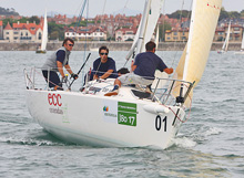 J/80 Spain- Trofeo Iberdrola- one-design sailing off Bilbao, spain