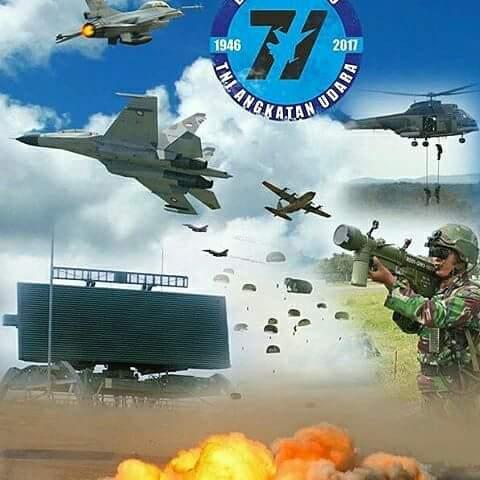 Dirgahayu TNI AU Ke - 71