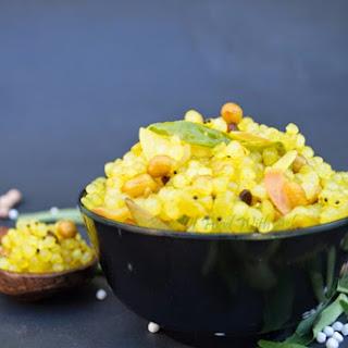 Lemony Sabudana recipe | How to make Sabudana (pearl tapioca) Kichdi