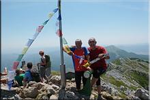 Aizkorri mendiaren gailurra 1.523 m.  --  2016ko uztailaren 10an