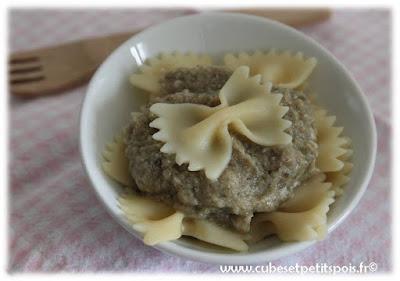 recette-bebe-12mois-pate-farfalle-agneau-caviar-mousse-aubergine