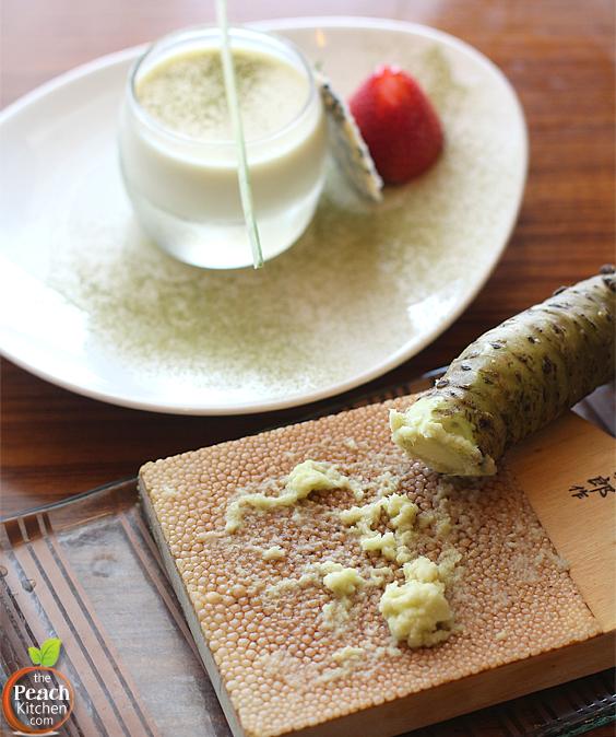 Desserts at Solaire: Yakumi's Wasabi Panna Cotta