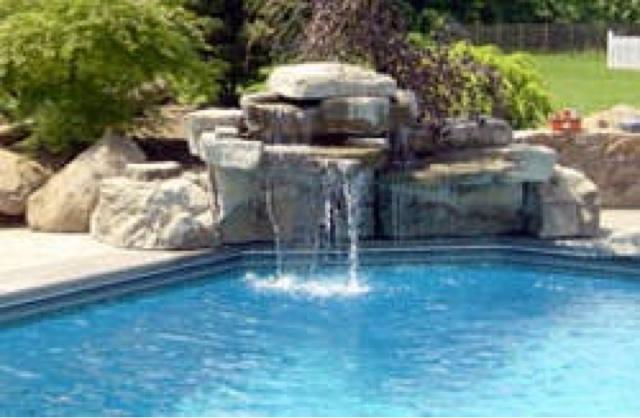 Alba piscinas com cascadas tem ticas for Cascadas de piletas
