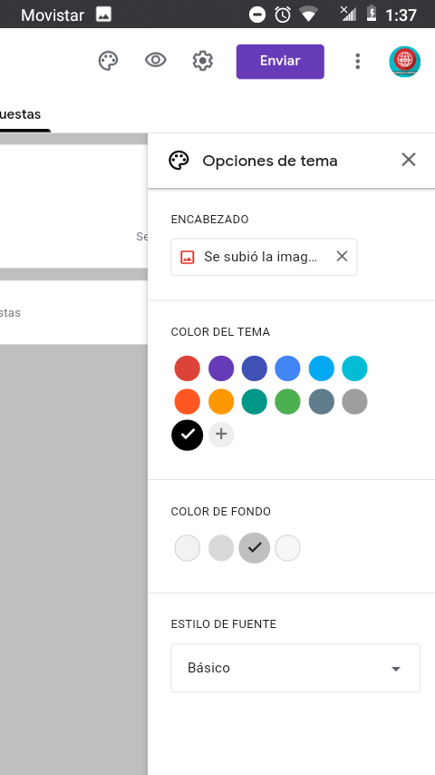 personalizar google forms