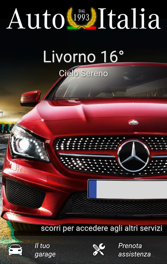 Auto Italia- screenshot