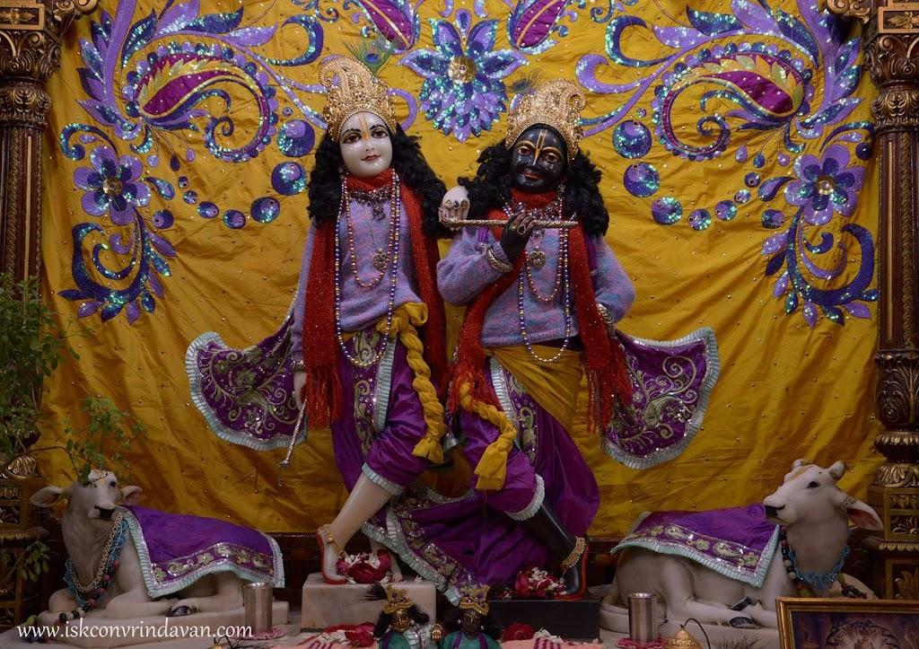 ISKCON Vrindavan Mangal Deity Darshan 14 Dec 2015 (2)