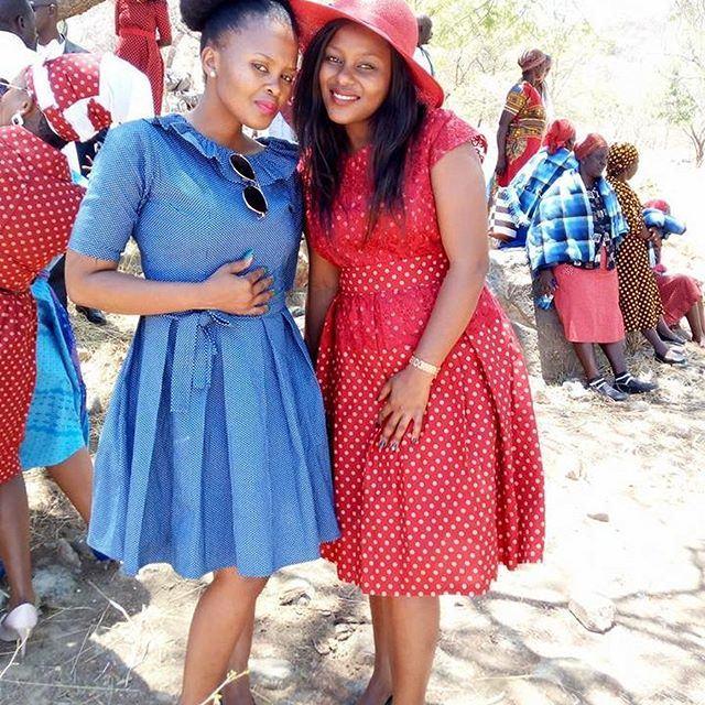 Beautiful Shweshwe Attires
