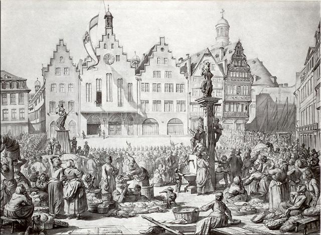 Anexión prusiana de la Ciudad Libre de Frankfurt - 1866