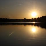 Zachód słońca na Rudzie.