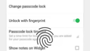 Fingerprint Support is Now Available in EverNote Beta App