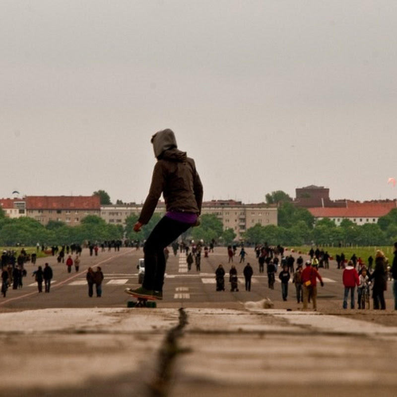 Abandoned Tempelhof Airport Now Berlin's Largest Park