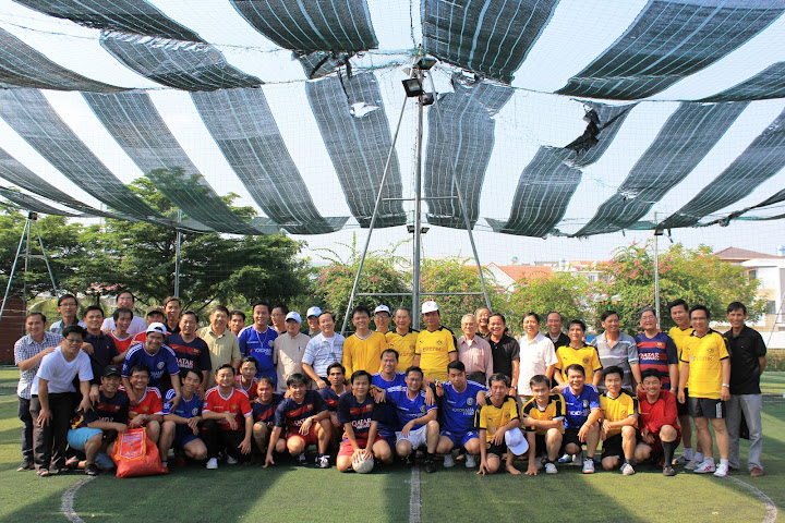 Buổi giao lưu bóng đá của các linh mục trẻ Giáo phận Nha Trang