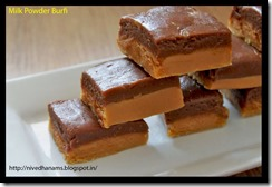 Milk Powder Burfi - IMG_4684