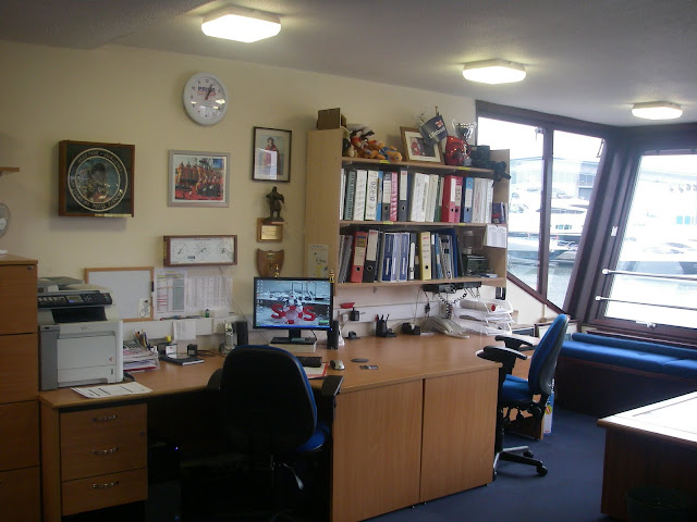 Crew room at Poole Lifeboat Station