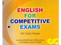 English for Competitive Exam - বইটির PDF কপি ডাউনলোড করে নিন