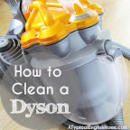 cleaning a dyson