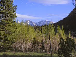 Photo: Longs Peak from Lily Lake area