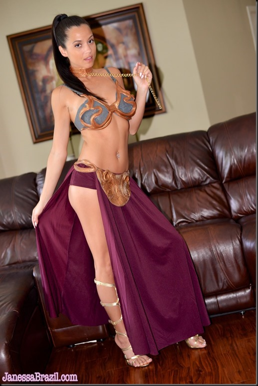 Slave Leia nude cosplay by Janessa_719847-0004