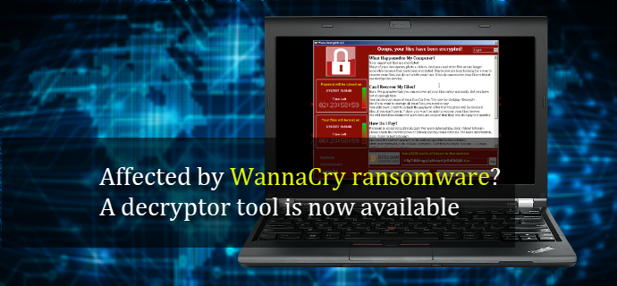 Affected by WannaCry ransomware? A decryptor tool is now available (www.kunal-chowdhury.com)