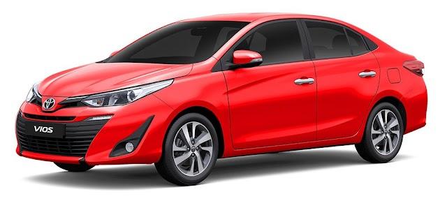 2020 Toyota VIOS Pricelist as of April 2020!