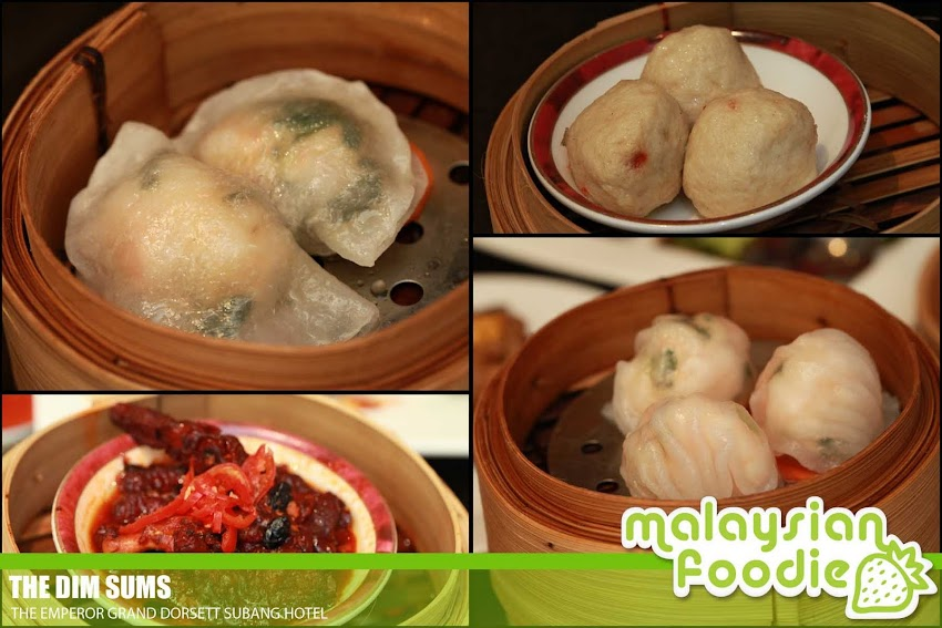 DIM SUM BUFFET AT THE EMPEROR, GRAND DORSETT HOTEL ( INVITED REVIEW)